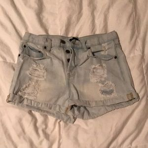 Forever 21 Distressed shorts